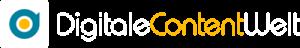 Digitale Content Welt Logo Negativ